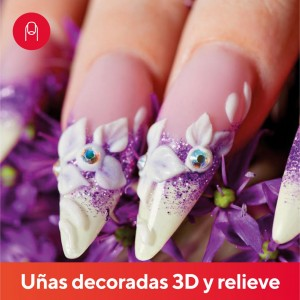 Uñas Decoradas 3D y Relieve