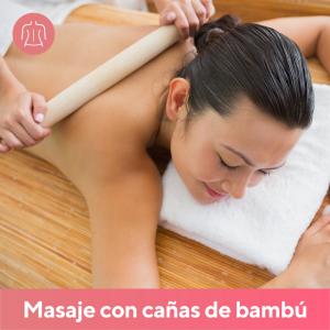 Masaje con Cañas de Bambú