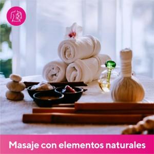 Masaje con Elementos Naturales